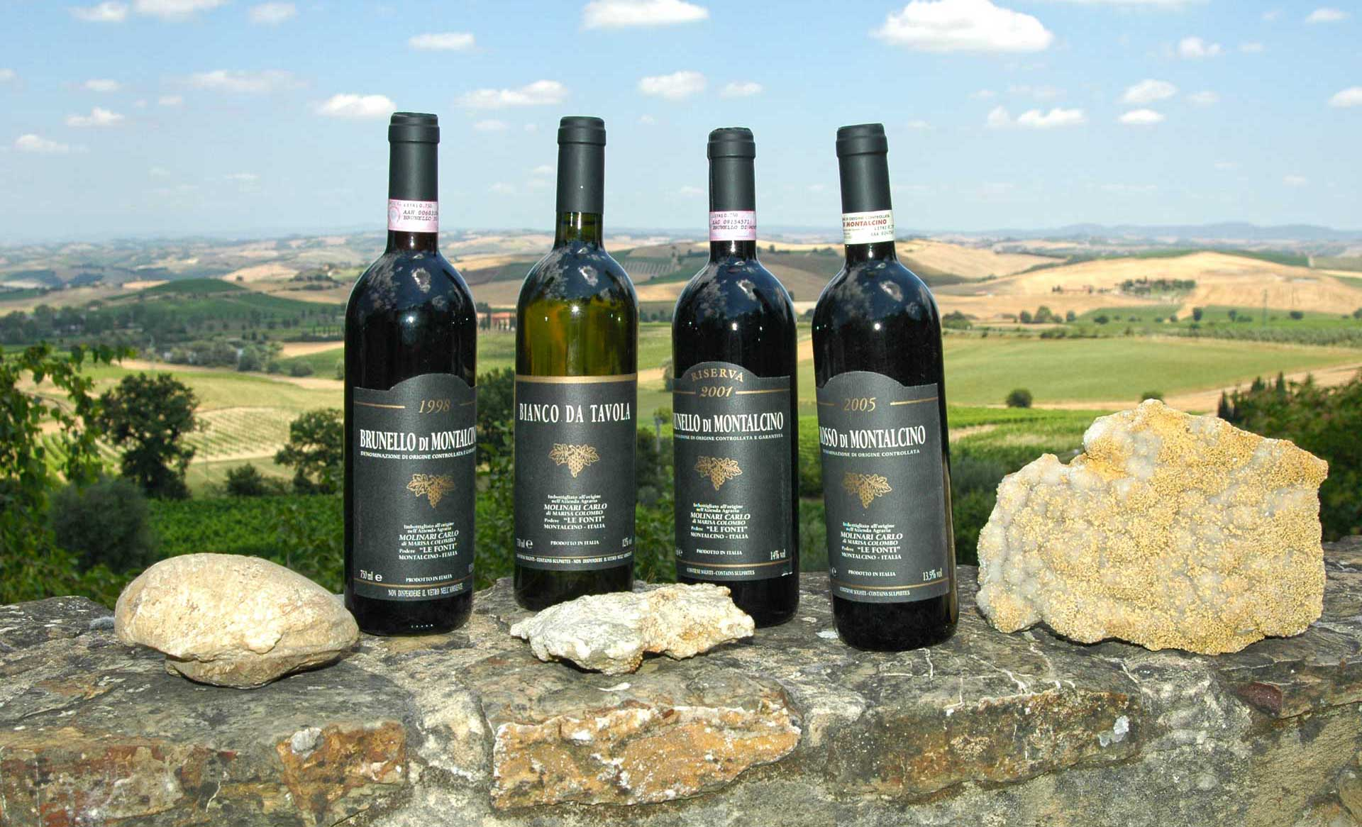 Wines ... The unique taste of Brunello di Montalcino